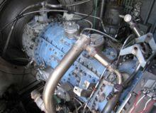 Used 120. gas turbin