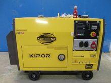 2015 Kipor 10 KVA diesel Aggreg