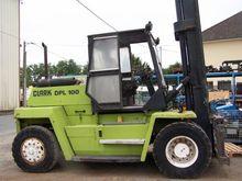 1993 Clarck Dpl 100 Forklift Tr