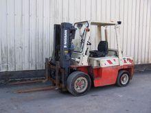 2000 Nissan Forklift Bdzwf03a35