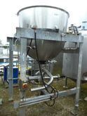1000 ltr Jacketed Pan with Scra