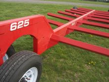 RED BALE WAGON TAG#74655