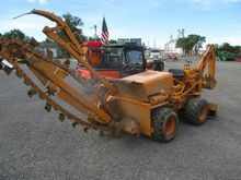 CASE 30 + 4 TRENCHER BACKHOE #1