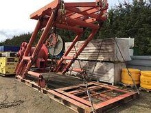 ROV hydraulic A frame LARS A/Z