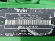 2011 John Deere 612C STALKMASTE