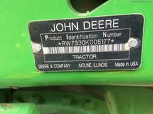 2008 John Deere 7330