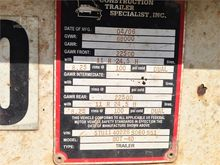 2006 CONST TRLR SPEC BDT-40