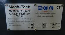 Machtech CS-275 (1 phase)
