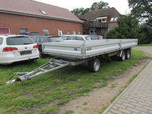 3-axle swivel trailer Unsinn GD