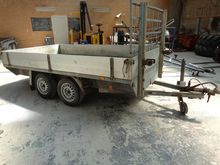 Anssems platform trailer WB-92-