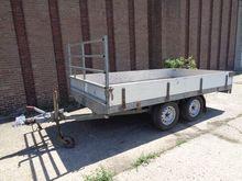 Falters platform trailer WF-18-
