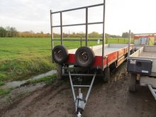 Atec 3-axle drawbar trailer, WV