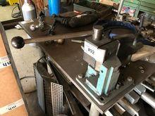 Hand lever steel flat-bender