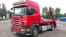 Carrier Scania R480 demountable
