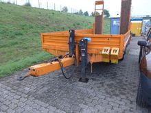 Tandem low loader trailer Blome