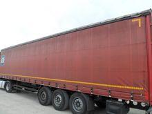 Semitrailer - platform / tarpau