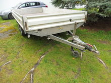 Double axle trailer Humbaur HT