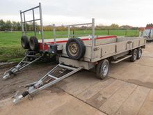 Verdonk 3-axle drawbar trailer,