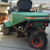 A riding lawn mower Ransomes Gr
