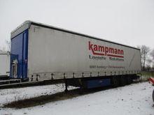 3-axle curtain semi-trailer Fli