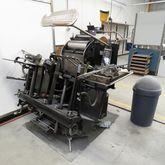 Heidelberg platen press