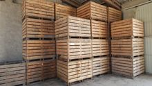 Items Wooden crates / Vegetable