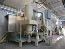 Coat powder spraying system