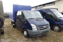 Small truck Ford Transit flatbe