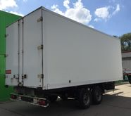 Tandem truck body trailer Oberm