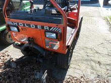 Holder articulated tractor
