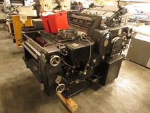 Offset printing monochrome,