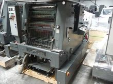 Heidelberg offset press GTOZP 5