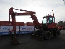 Case wheeled excavators