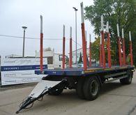 2-axle platform trailer BEFA 2P