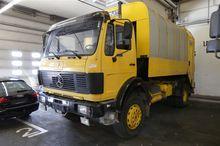 Garbage truck (truck) Mercedes