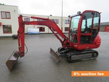 Case mini excavator dredger