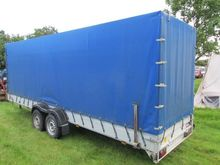Tandem car trailer Koch H / 449