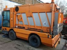 Suction and sweeper Faun Cleang