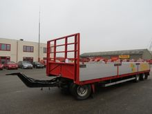 Jumbo 3-axle trailer open, WP-1