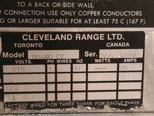 Used Cleveland DM-80