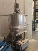 250 Gallon SS Kettle & Agitated