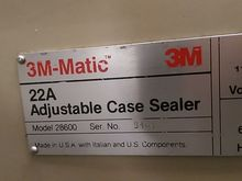 3M 22a 28600 Case Sealer Box Ta