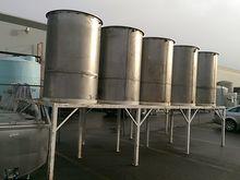 500 Gallon Stainless Steel Vert
