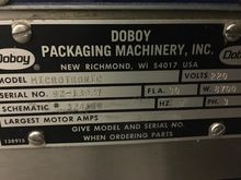Used Doboy Microtron