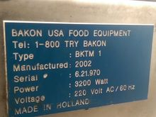 Used Bakon Tartlet T