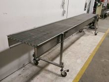SS conveyor 15′ long, 2′ wide S