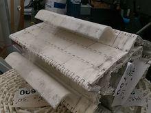 "White 16"" Conveyor Belt with Sc"