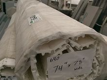 "White 78"" Conveyor Belting"
