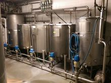 5-Tank Dairy CIP System with He