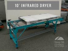 10′ Infrared Wire Mesh Conveyor